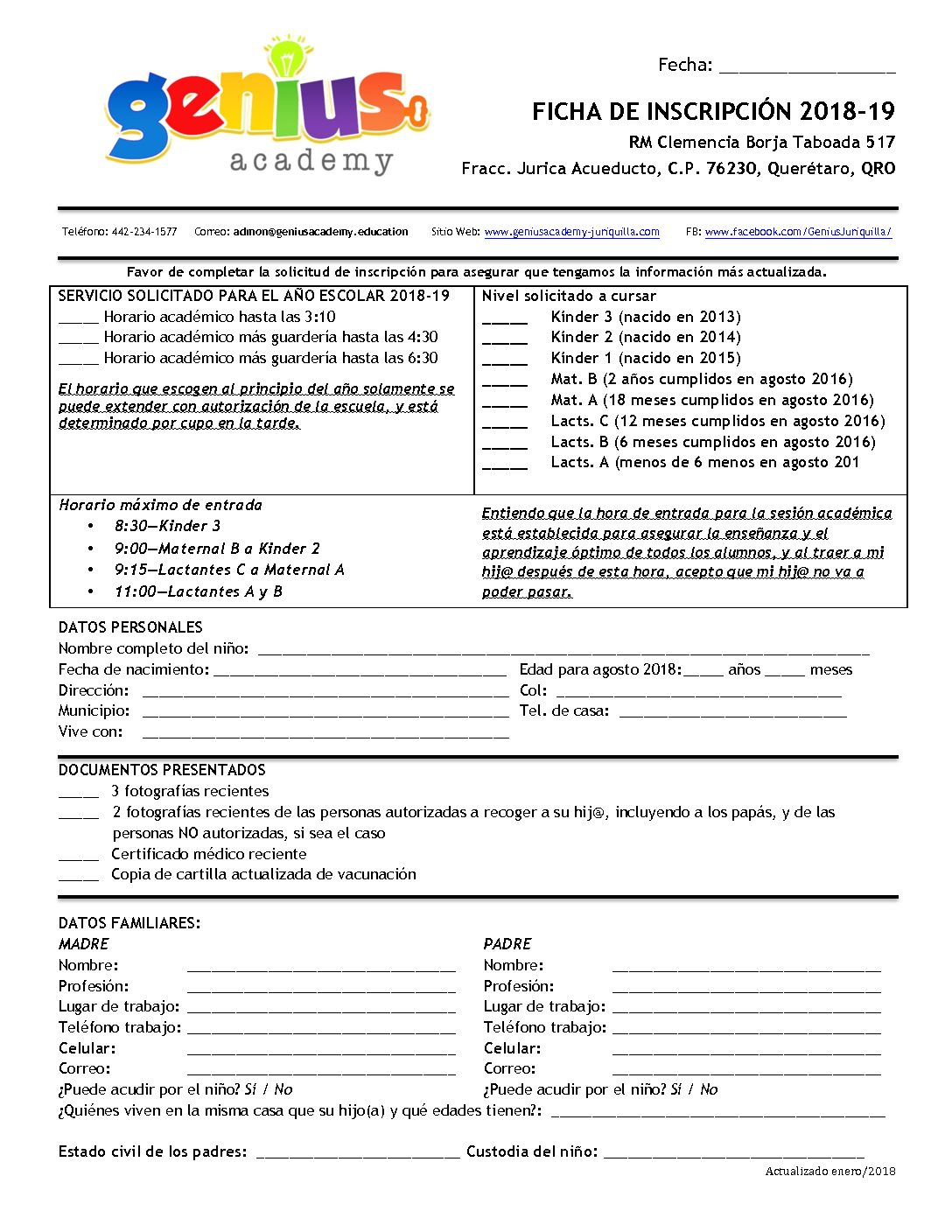 Requisitos 2018-19 – Juriquilla